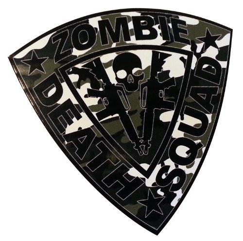 Zombie Death Squad AR15 Urban Camo Sticker