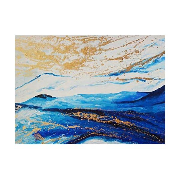 LIWALLPAPER-Carta-Da-Parati-3D-Fotomurali-Pittura-A-Olio-Astratta-Delle-Montagne-Blu-Dorato-Camera-da-Letto-Decorazione-da-Muro-XXL-Poster-Design-Carta-per-pareti-200cmx140cm