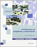 Instalaciones de megafonía y sonorización (Electricidad Electronica)