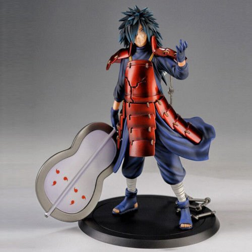 HOT Anime Action Figures Inspired Naruto Madara Uchiha PVC 24cm Model Toys Doll