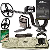 GARRETT AT PRO METAL DETECTOR W/8.5 X 11 DD COIL & Cover ADVENTURE PK GOLD BOOK DVD W/MUST HAVE ACCESSORIES
