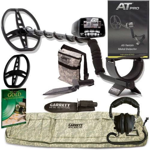 GARRETT AT PRO METAL DETECTOR W/8.5 X 11 DD COIL & Cover ADVENTURE PK GOLD BOOK DVD W/MUST HAVE ACCESSORIES Review