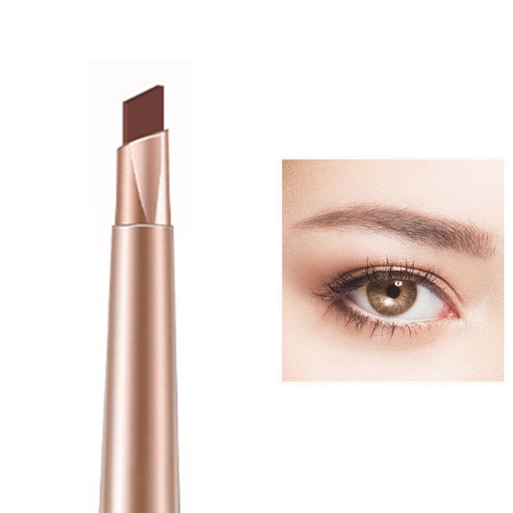 Hinmay impermeabile matita per sopracciglia Twist Up eyeliner professionale per sopracciglia penna con pennello
