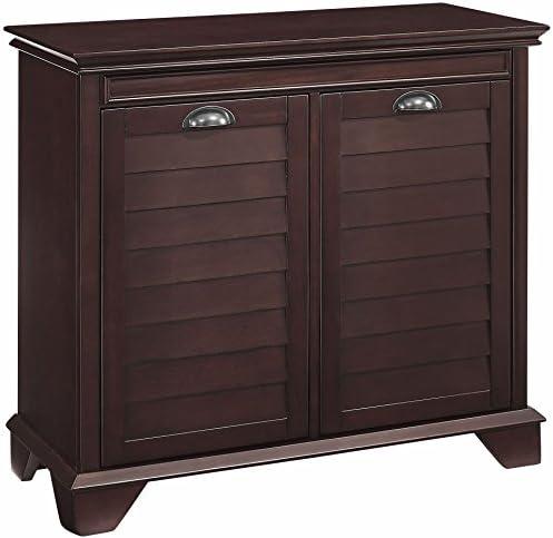 picture of Crosley Furniture Linen Hamper, Espresso
