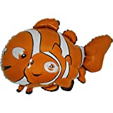 37'' poisson clown en forme de ballon de papier d'aluminium (CS52)