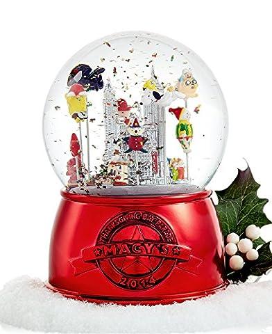 Macy's Thanksgiving Day Parade Snow Globe 2014 LIMITED EDITION Musical Globe (The Thanksgiving Day Parade)