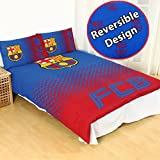 FC Barcelona Fade UK Double/US Full Duvet Cover and Pillowcase Set