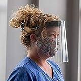 MAGNITUDE Made in Canada Face Shield Visor Adjustable PPE Protective Equipment Mask Anti Saliva Anti Fog