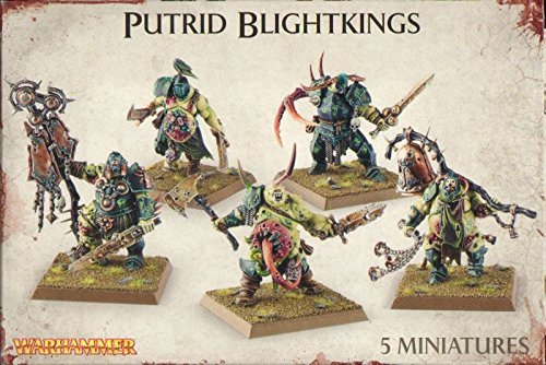 Games Workshop 99120201041 Nurgle Rotbringers Putrid Blightkings Tabletop and Miniature