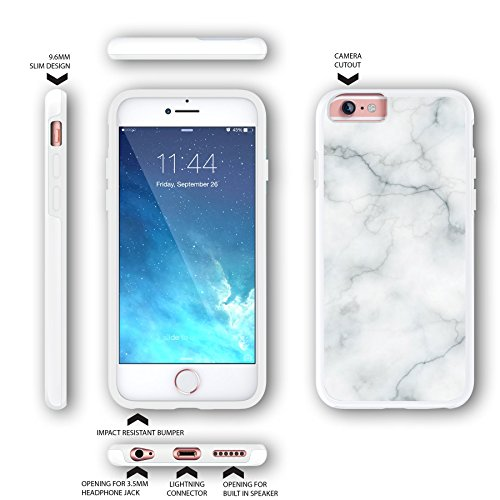 marble protective iphone 6 case