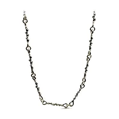 Handmade Sterling Silver Rope Chain 18