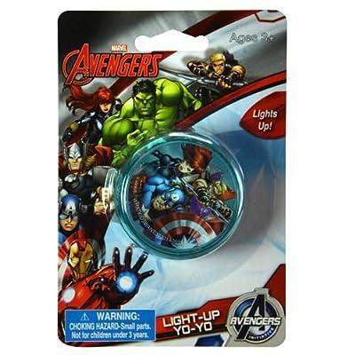 Universal Marvel Avengers Light Up Yo-Yo (3 Pack): Toys & Games