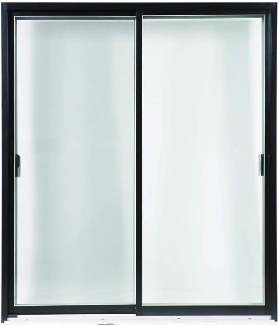 Puerta corredera exterior de aluminio con ventana superior de buena calidad (medidor cuadrado): Amazon.es: Bricolaje y herramientas