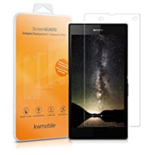 kwmobile Screen protector tempered glass for Sony Xperia Z in crystal clear - Premium quality