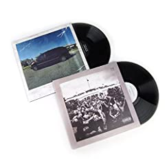 Kendrick Lamar's first two albums on Interscope on double vinyl with gatefold sleeve.