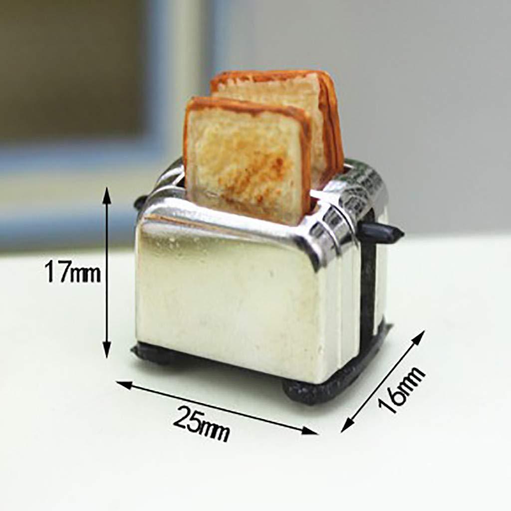 "1//6 Scale Bread Breakfast Model for 12/"" Figure Scene Accessories"