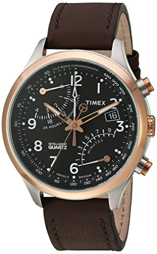 Timex Men's TW2P73400DH Intelligent Quartz Collection Watch with Brown Band