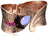 1928-Jewelry-Morado-Amor-Cuff-Bracelet