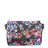 Vera Bradley Iconic Shoulder Bag, Signature Cotton, Pretty Posies