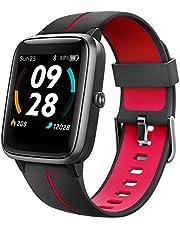 UMIDIGI Smartwatch Uwatch3 GPS, 1,3-inch Waterdicht Touchscreen en Ingebouwde GPS Sporthorloge, Fitnesstracker met Slaapmonitor en Stappenteller voor Dames en Heren
