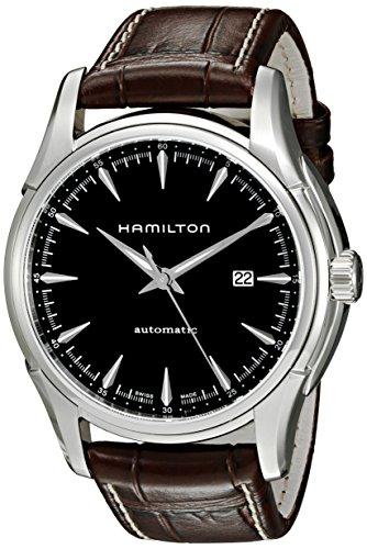 ساعت مچی مردانه همیلتون مدل H32715531 با بند چرمی