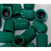 Nitrogen Valve Stem Caps Tire 12 Pcs Green Plastic TPMS With Seal For Nitrogen Inflation - Skroutz