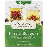 Numi Organic Tea, Tea Petite Bouquet, Flowering Tea Blossom Variety Pack, 4 Count Box