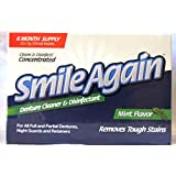 Smile Again Denture Cleaner - Cleans and Disinfects!