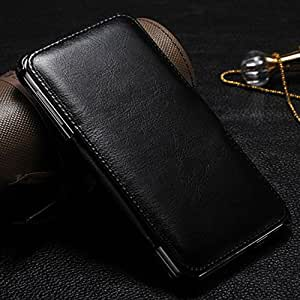 E9Q Cuero Lujo Monedero cubierta del soporte del tirón para Samsung Galaxy Note3 N9000
