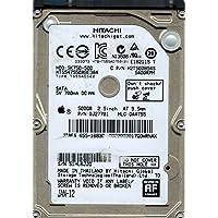 Hitachi HTS547550A9E384 P/N: 0J27701 MLC: DA4755 500GB 655-1683C