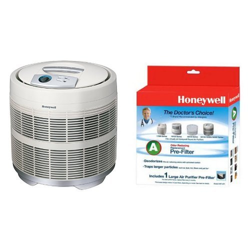 honeywell honeywell 50250 s true hepa air purifier 390 sq. Black Bedroom Furniture Sets. Home Design Ideas