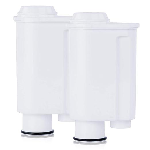 SCANPART - Cartuchos de filtro para cafeteras Saeco Intenza+ (2 ...