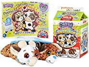 Basic Fun Cutetitos Taste Budditos Peanut Butter & Jelly - 2 Collectible Plush Mini Animals - Ages 3+ - Se