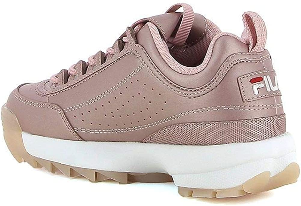 Fila Disruptor M Low W Chaussures Rose