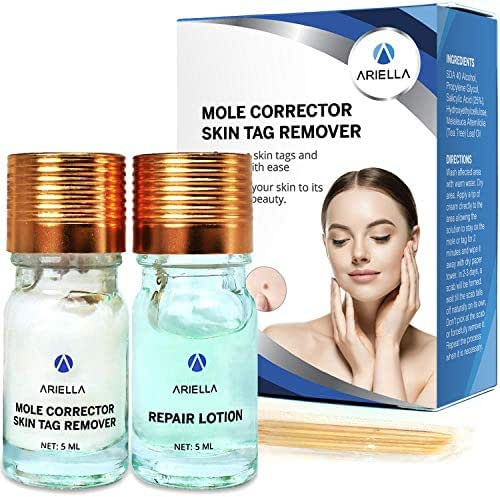 Skin Tag Remover & Mole Corrector - All Natural Skin Tag Cream-For Safe, Effective Skin Tag Removal