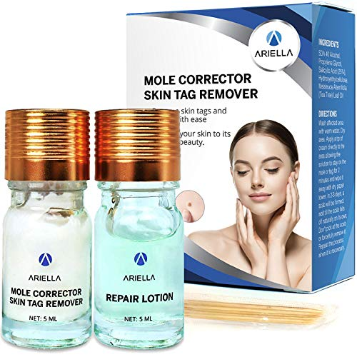 Skin Tag Remover & Mole Corrector - All Natural Skin Tag Cream-For Safe, Effective