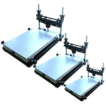 Impresora de pasta de soldadura manual PCB SMT, tamaño S, 300 x ...