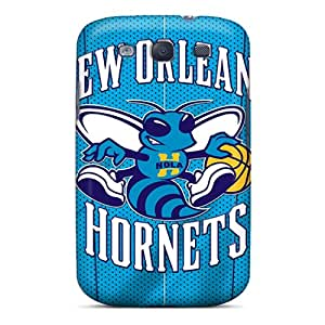 Quality Ottercases Case Cover With New Orleans Hornets Nice Appearance Compatible With Galaxy S3