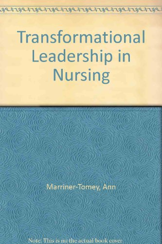 transformational leadership in nursing essay Essay about transformational leadership - transformational leadership tom rath explains in his book, strenghtsfinder 20 (2007), that identifying and capitalizing on one's strengths makes for a more fulfilled and effective employee, further benefitting the employing organizationmagnet transformational leadership style nursing essay.