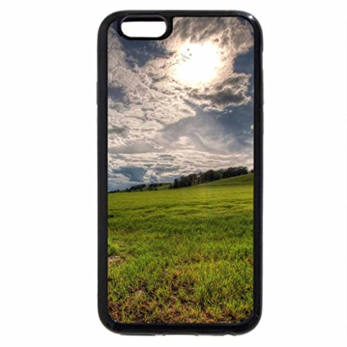 iPhone 6S / iPhone 6 Case (Black) wonderful meadow landscape hdr