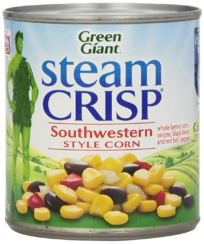 Green Giant Steam Crisp Southwestern Style Corn, 11 Oz (Pack of 6)