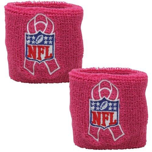 Cancer Awareness Wristband (NFL Breast Cancer Awareness Pink Wristbands-1)