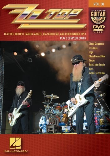 ZZ Top - Guitar Play-Along DVD Volume - Instructions Sunglasses Video