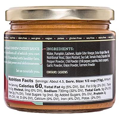 Spicy Chipotle Cashew Cheesy Sauce (vegan, paleo, gluten-free)