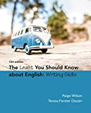 img - for The Least You Should Know About English: Writing Skills book / textbook / text book