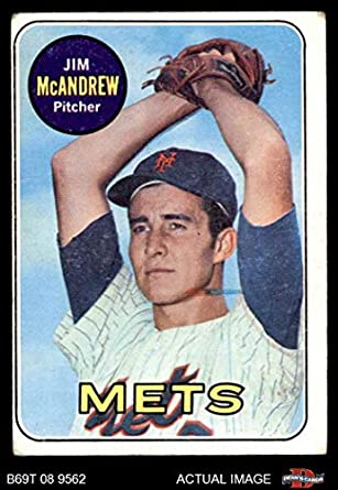 1973 Topps #436 Jim McAndrew New York Mets Baseball Card Verzamelkaarten: sport