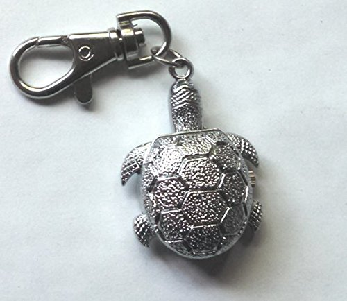 Watch Silver Turtle Key Chain
