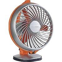 Luminous Buddy 230mm 55-Watt High Speed Personal Fan (Royal Orange)