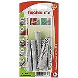 Fischer 77854 10 x 60 mm UX RK Universal Plug - Multi-Colour (6-Piece) by Fischer