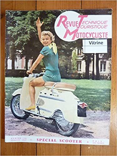 Téléchargement gratuit d'un nouveau livre électronique REVUE TECHNIQUE MOTO SCOOTER MANURHIN Hobby - SPECIAL SCOOTERS RTM0130 - Juillet 1957 en français PDF CHM ePub B00CI80XTU